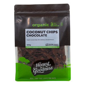 Honest to Goodness Organic Chocolate Coconut Chips
