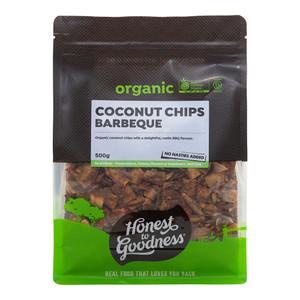 Organic BBQ Coconut Chips