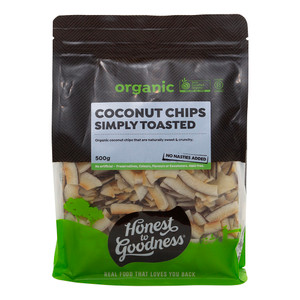 Honest to Goodness Organic Simply Toasted Coconut Chips
