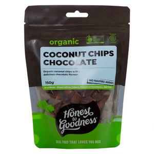 Organic Chocolate Toasted Coconut Chips