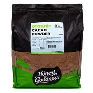 Honest to Goodness Organic Cacao Powder