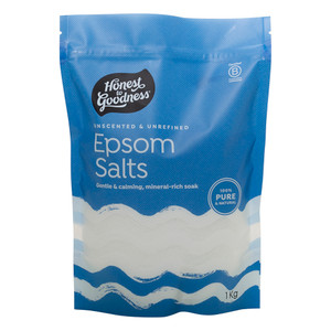 Honest to Goodness Natural Unscented Epsom Salts