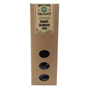 Organic Spelt Licorice 500g