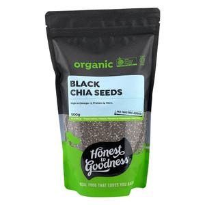 Organic Black Chia Seeds