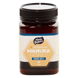Honest to Goodness Australian Manuka Honey MGO 83+
