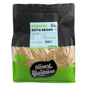 Honest to Goodness Organic Soya Bean Bulk Shop Online