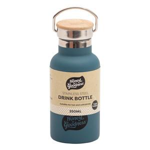 Stainless Steel Drink Bottle 350ml - Blue