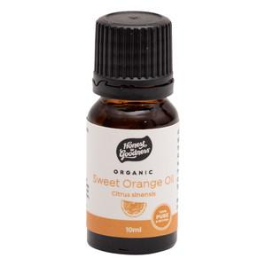Organic Sweet Orange Essential Oil 10ml