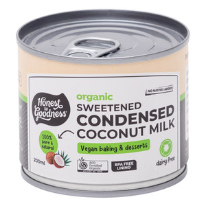 Organic Sweetened Condensed Coconut Milk 200ml