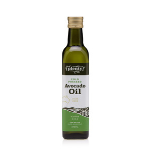 Avocado Oil - Cold Pressed 375ml, Plenty Foods