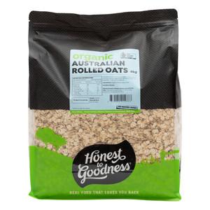 Organic Australian Rolled Oats 4KG