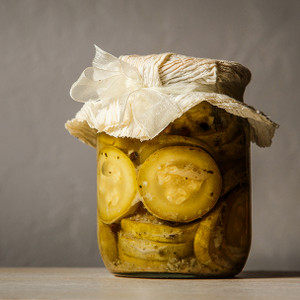 Pickled Zucchinis
