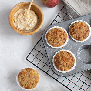 Spiced Apple Cider Muffins