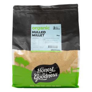 Organic Australian Hulled Millet 5KG