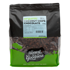 Organic Coconut Chips - Chocolate 3.5KG - BBD 13.03.2022