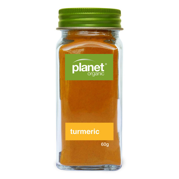 Planet Organic Turmeric Powder 60g