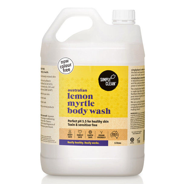 Lemon Myrtle Body Wash 5L