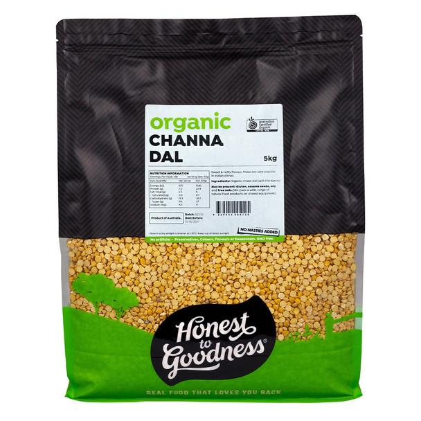 Honest to Goodness Organic Chana Dal