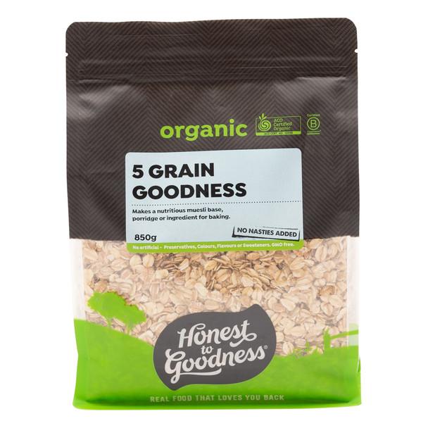 Organic 5 Grain Goodness 850g