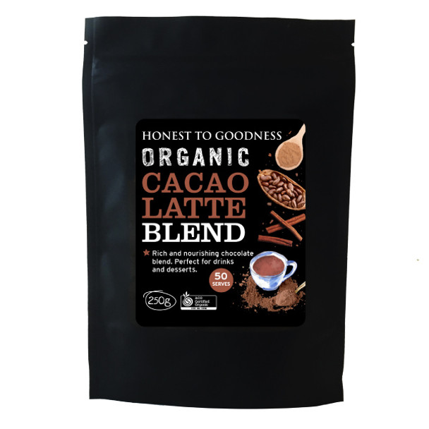 Organic Cacao Latte Blend 250g