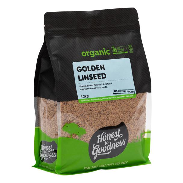 Organic Golden Linseed 1.2KG
