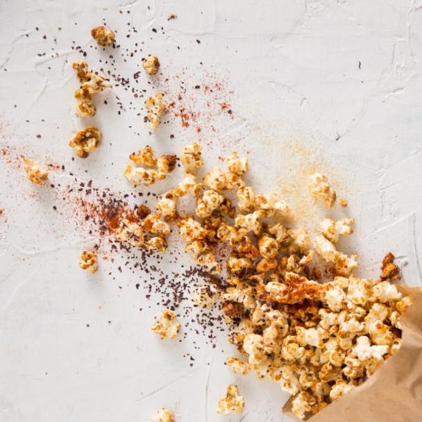 Savoury Hemp Popcorn