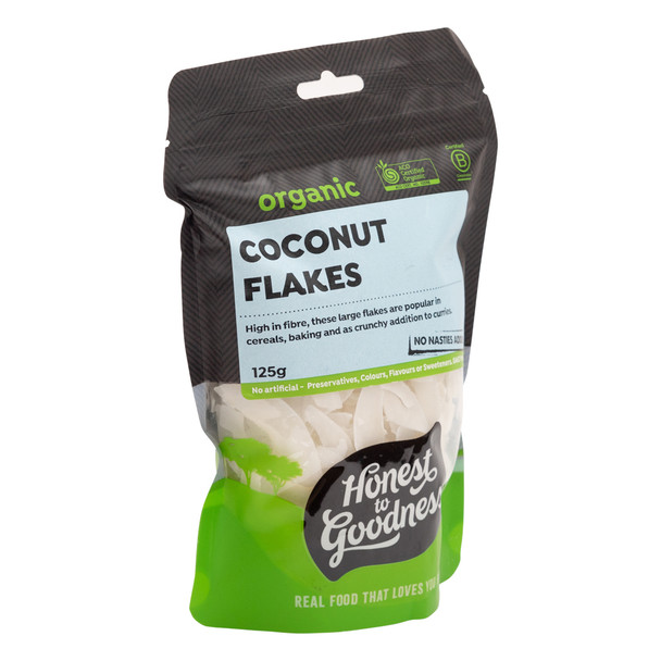 Organic Coconut Flakes 125g
