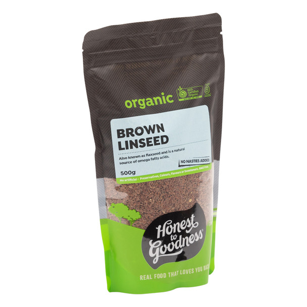 Organic Brown Linseed 500g