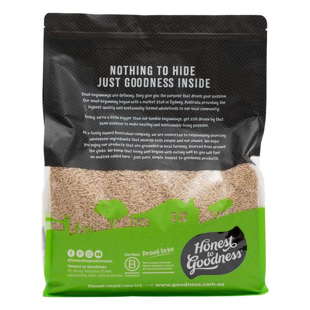 Organic Australian Oat Groats 5KG