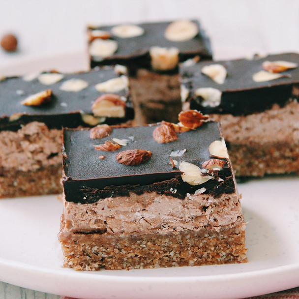 Chocolate, Hazelnut & Coconut Raw Treat