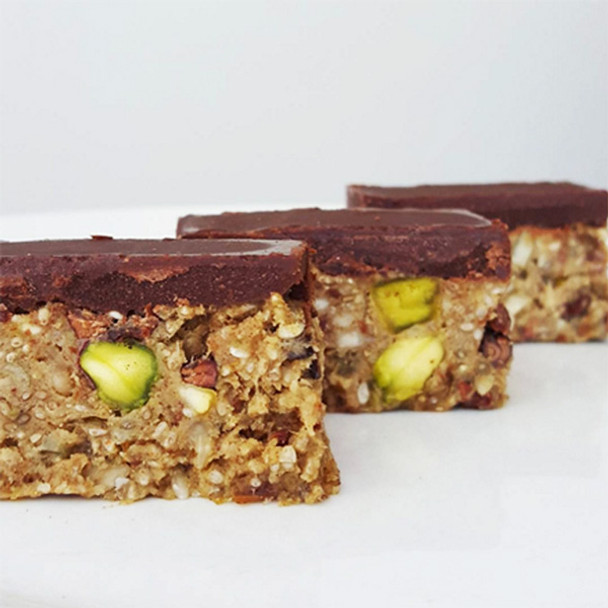 Chocolate Seed Slice