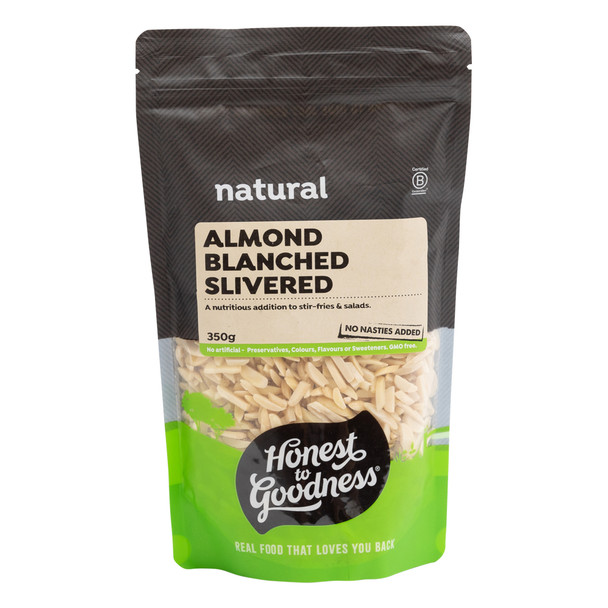 Blanched Slivered Almonds 350g