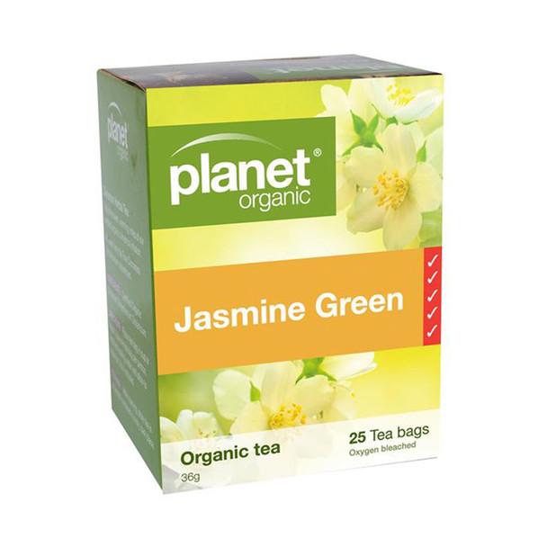 Organic Jasmine Green Tea Bags x 25