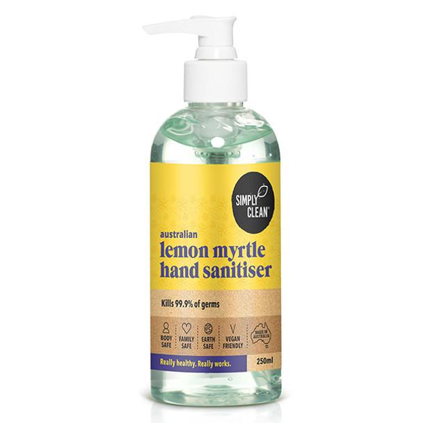 Simplyclean Lemon Myrtle Hand Sanitiser