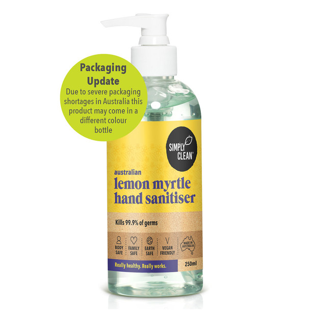 Lemon Myrtle Hand Sanitiser 250ml