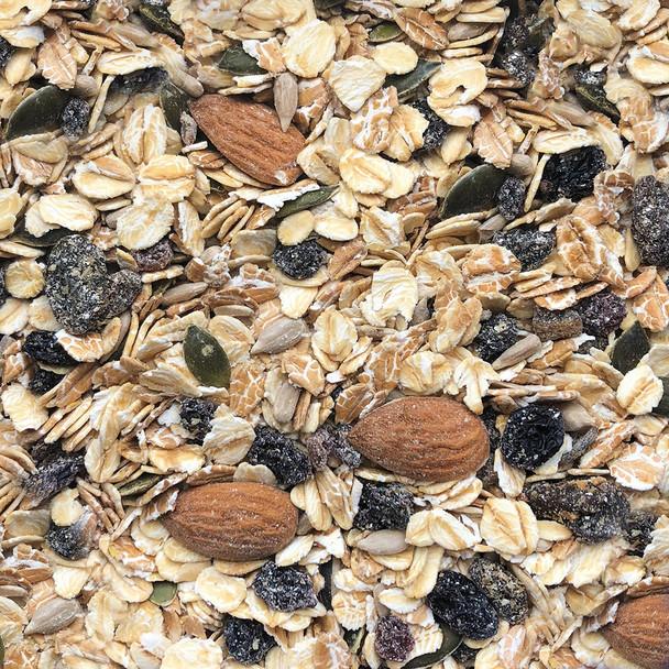 Muesli 40% Fruit-Nut-Seeds | Sulphur Free 10KG