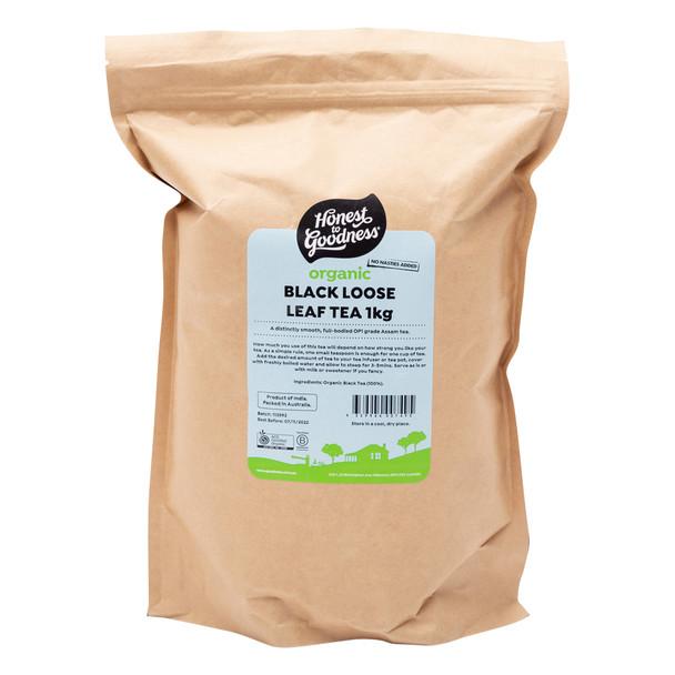 Organic Black Loose Leaf Tea 1KG