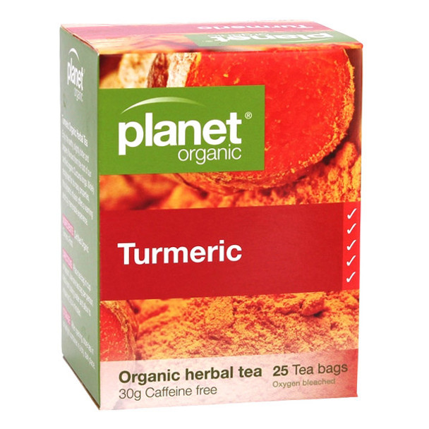 Planet Organic Turmeric Tea Bags x 25