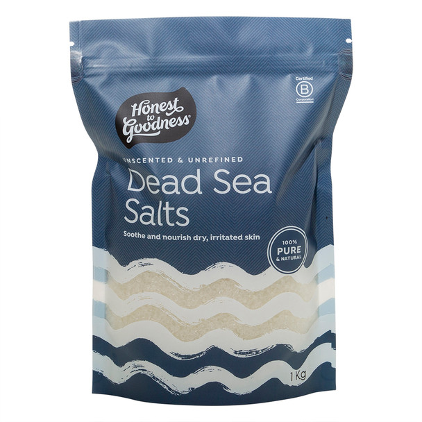 Honest to Goodness Dead Sea Salts