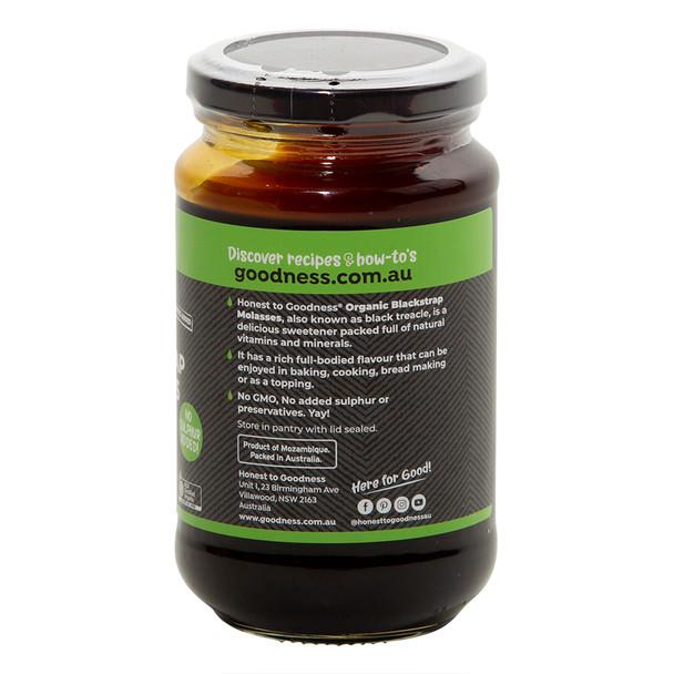Organic Blackstrap Molasses 450g