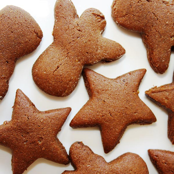 Traditional Swedish Christmas Gingerbread Biscuits