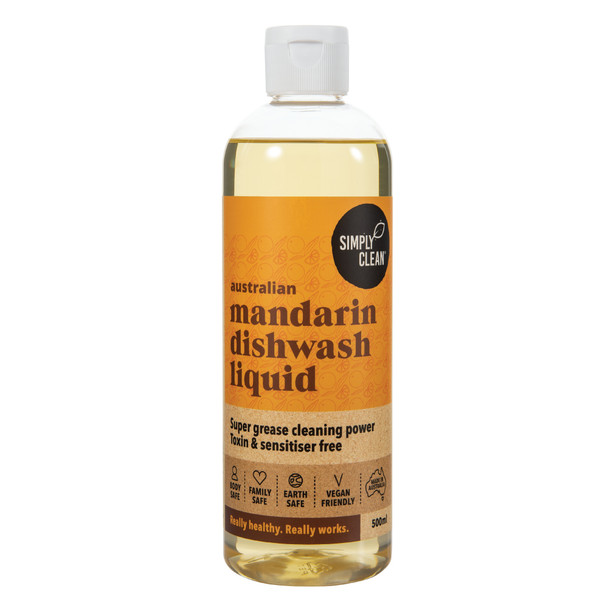 Mandarin Dishwash Liquid 500ml