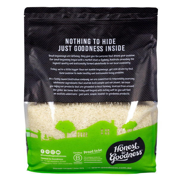 Organic Jasmine Rice 5KG