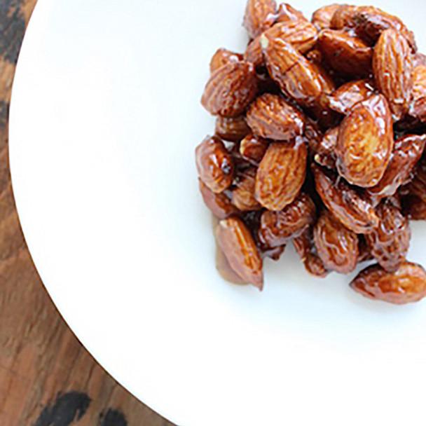 Sweet Glazed Almonds