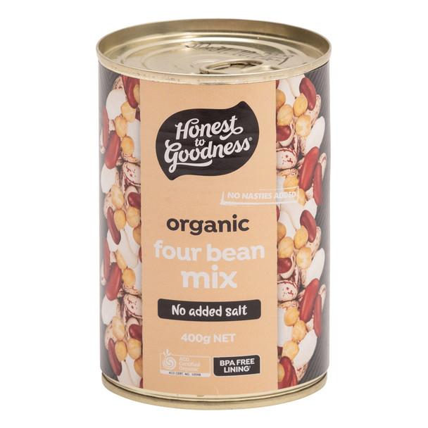 Organic Four Bean Mix 400g
