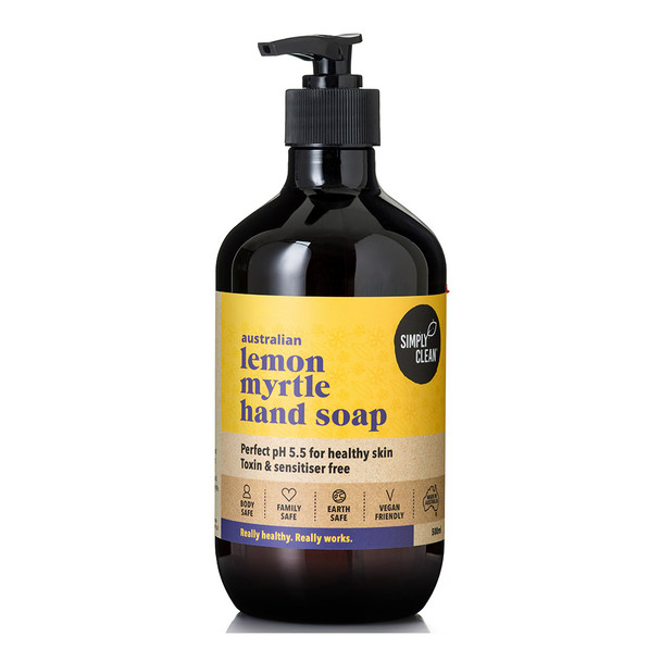 Lemon Myrtle Hand Soap 500ml
