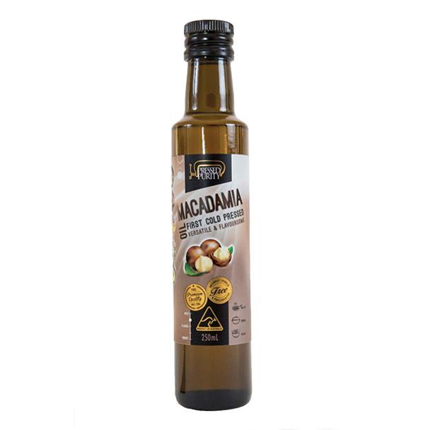 Macadamia Oil - Cold Pressed 250ml