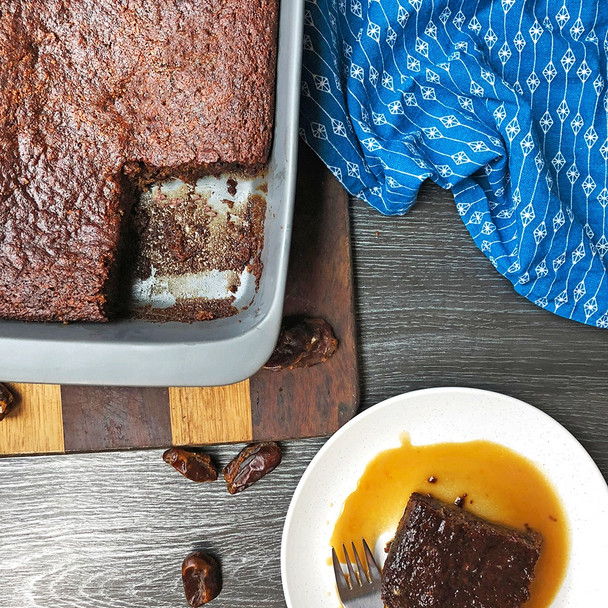 Sticky Date Pudding with Coconut Caramel Sauce
