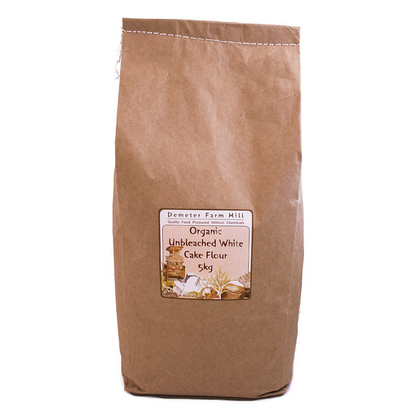 Wholegrain Milling Organic Unbleached White Cake Flour