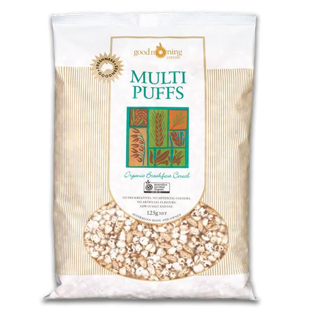 Organic Puffed Multigrain 125g